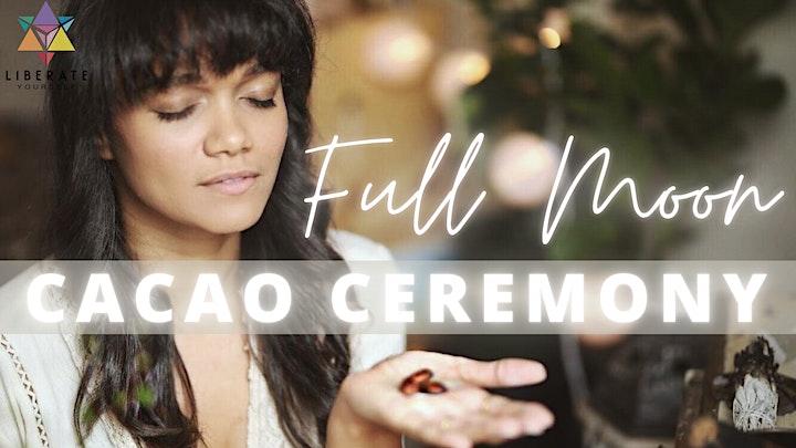 Opening Full Moon Sound Bath, Cacao Ceremony, ReikiTummo & Burning Ritual image
