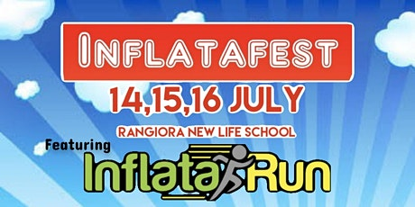 INFLATAFEST Indoors at Rangiora New Life School tickets