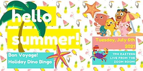 VIPKid Dino Bingo: Bon Voyage Holiday Edition! tickets