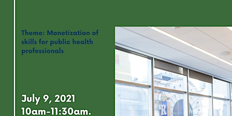 monetization of Skills for Public Health Professionals tickets