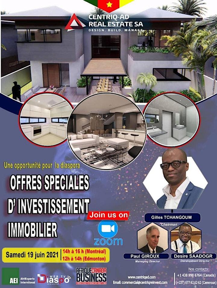Image de OFFRES SPECIALES D'INVESTISSEMENT IMMOBILIER AU CAMEROUN