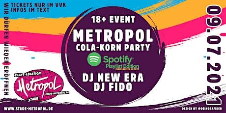 Metropol Cola Korn || Spotify Playlist Edition Tickets