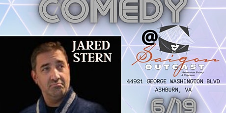 Free Comedy with Jared Stern (DC Improv, City Paper) at Saigon Outcast! tickets