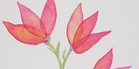 Simply Watercolor Class (Beginners Welcome) tickets