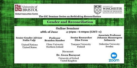 Reconciliation and Gender tickets