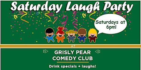 Tickets to SATURDAY LAUGH PARTY! tickets