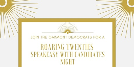 Roaring 20s Speakeasy with Candidates Night tickets