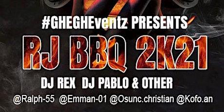 RJ's BBQ PARTY 2K21 biglietti