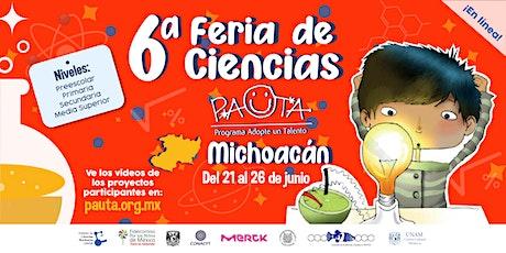 Feria PAUTA Michoacán 2021 entradas