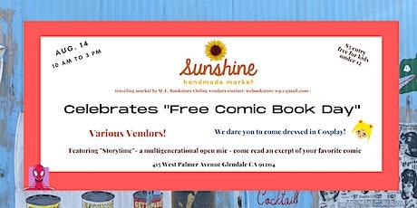 Sunshine Handmade Market Celebrates  Free Comic Book Day! tickets