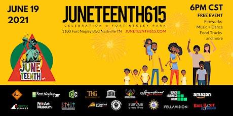 JUNETEENTH615 Celebration at Fort Negley Park tickets