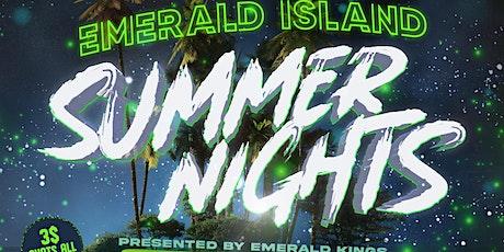 Emerald Island Summer Nights tickets