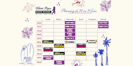 Réservations Cours Fitness du 14 au 18 Juin billets
