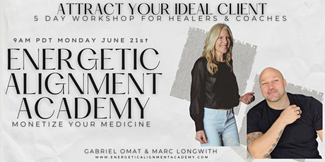 Client Attraction 5 Day Workshop I For Healers and Coaches (Richmond) tickets
