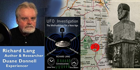 MUFON Virginia - Live Meeting with UFO Researcher & Author Richard Lang! tickets