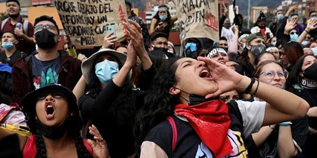 Colombia in revolt: Repression and resistance in Latin America tickets