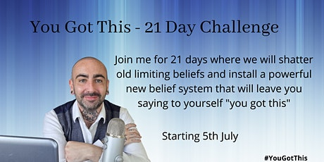 You Got This - Change your limiting beliefs tickets