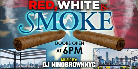 4th Annual Red, White, & Smoke Cigar Rooftop Party tickets