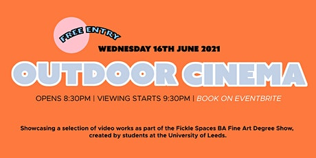 Fickle Spaces' Outdoor Cinema tickets