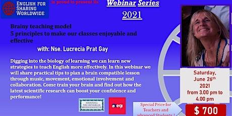 Brainy teaching model : 5 principles to make our classes enjoyable. entradas