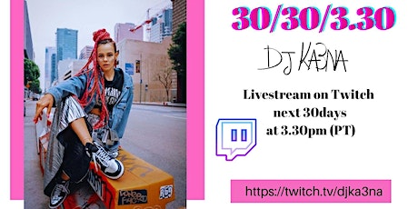 Virtual Dance Party Every Day on TWITCH! tickets