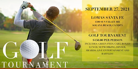 Golf Tournament tickets