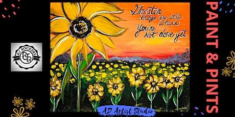 Sunflower Field Paint & Pints tickets