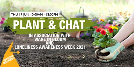 Plant a bulb for a donation and have a chat and connect with others tickets