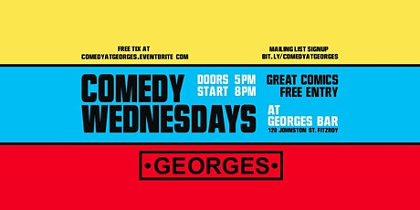 Comedy Wednesdays at George's - Lloyd Langford - June 16th tickets