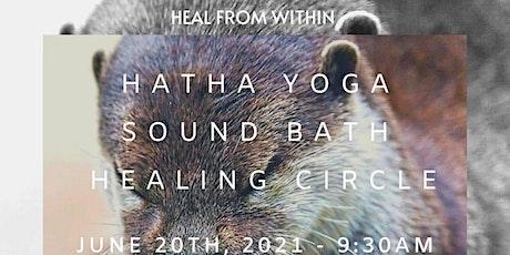 Yoga, Soundbath & Healing Circle tickets