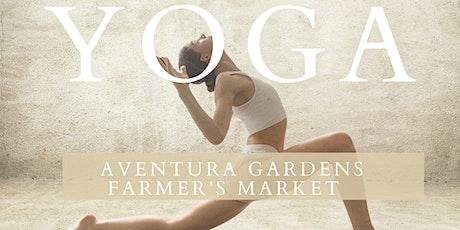 Yoga by Aventura Gardens Farmer's Market tickets