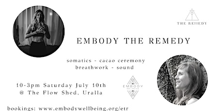 Embody The Remedy tickets
