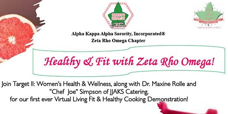 Healthy and Fit with Zeta Rho Omega tickets