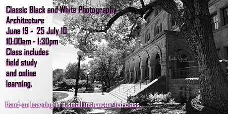 Classic Black and White Photography - Architecture tickets