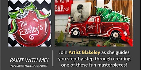 Paint with Me! Featuring Artist Blakeley tickets