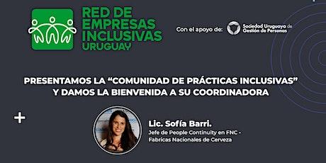 """Presentación de la """"Comunidad de prácticas inclusivas"""" entradas"""