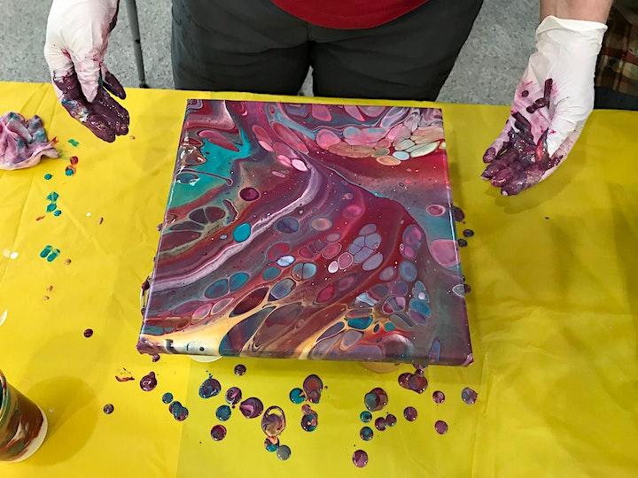 Paint Pouring Workshop image