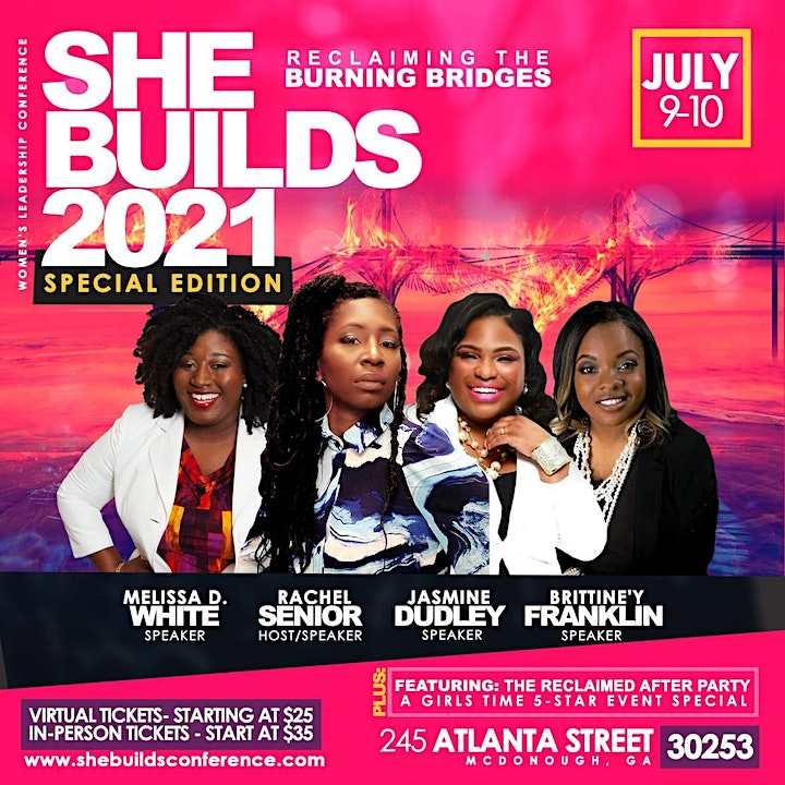 She Builds  Women's Leadership Conference 2021 image