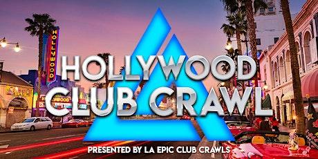Hollywood Club Crawl tickets
