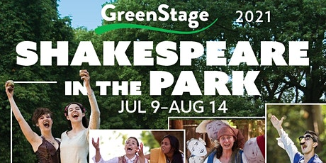 GreenStage Presents FREE Shakespeare in the Park tickets