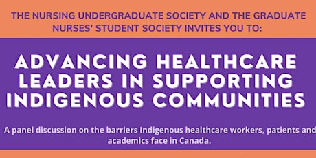 Advancing Healthcare Leaders in Supporting Indigenous Communities tickets