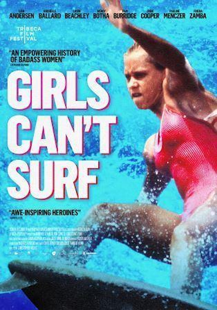 GIRLS CAN'T SURF Community Screening & Charity Fundraiser image