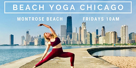 Beach Yoga Chicago - Mindful Yoga Fusion at Montrose Beach tickets
