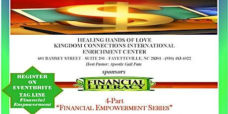 "Financial Literacy ""4-Part Empowerment Series"" tickets"