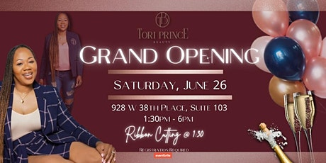 Tori Prince Beauty Aesthetic Lab Grand Opening tickets