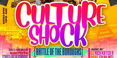 Culture Shock  Battle of the Boroughs tickets