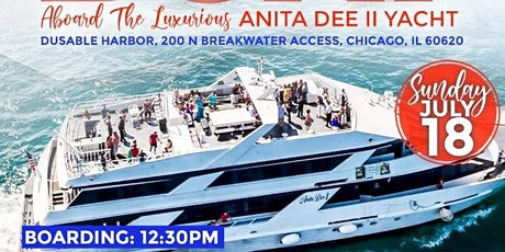All White Cancer Bash Rock The Boat Day Party on Anita Dee II YACHT tickets
