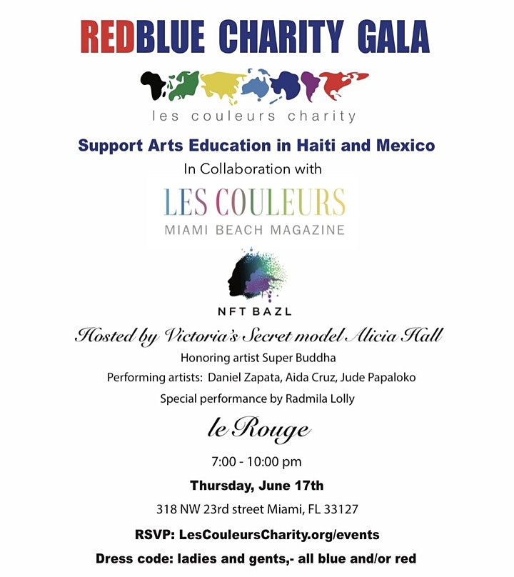 Red Blue Charity Gala image