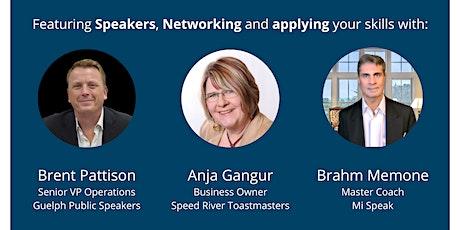 Impromptu Speaking Workshop: Speak off the cuff while networking tickets