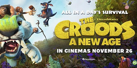 Croods A New Age (8:55 PM) & News of the World (10:40 PM) Fri June 18 tickets